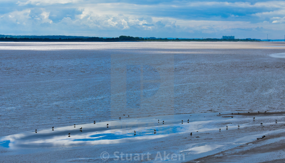 """Severn Estuary"" stock image"