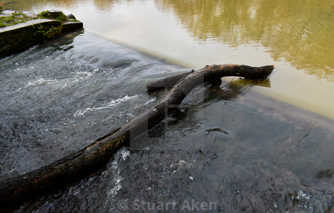 """""""Water Flows"""" stock image"""