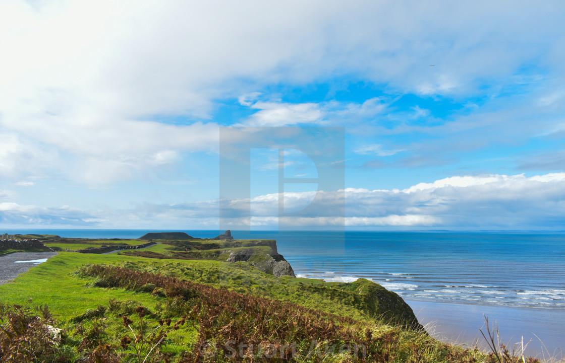 """""""Gower Coast #6"""" stock image"""