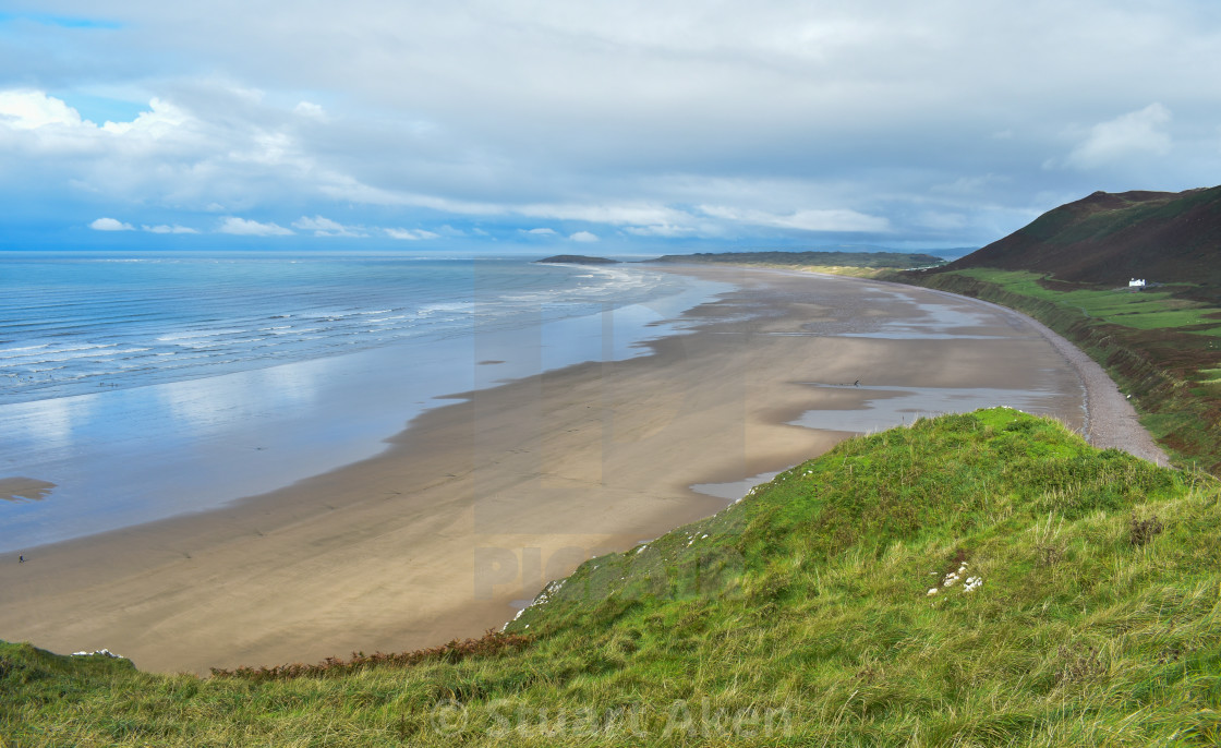 """Gower Coast #9"" stock image"