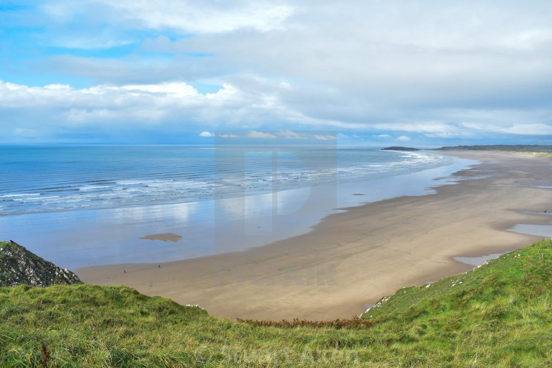 """""""Gower Coast #10"""" stock image"""