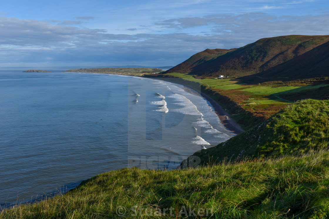 """Gower Coast #13"" stock image"