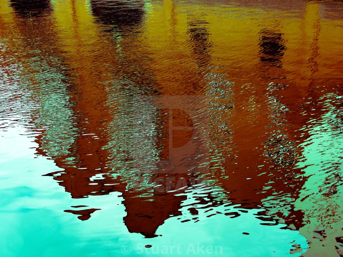 """""""Reflection #12"""" stock image"""