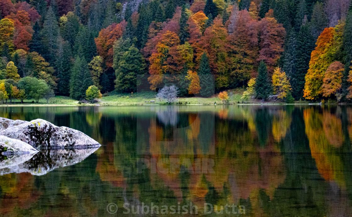 """Autumn Mirror 2.0"" stock image"