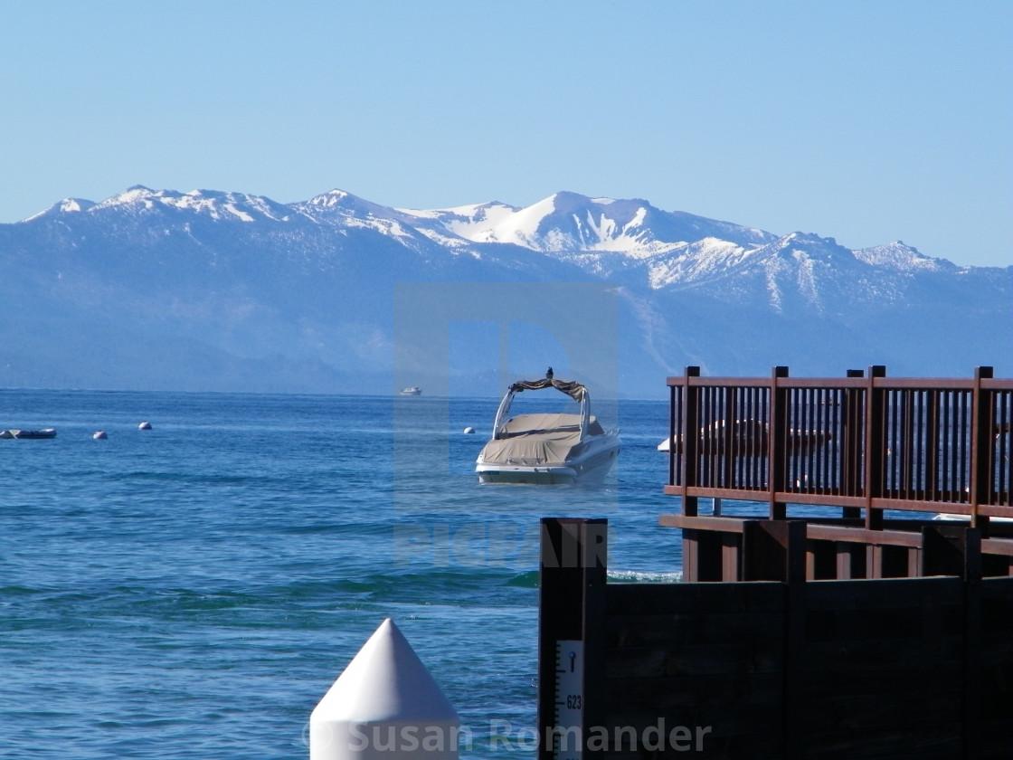 """""""Lake Tahoe in July"""" stock image"""