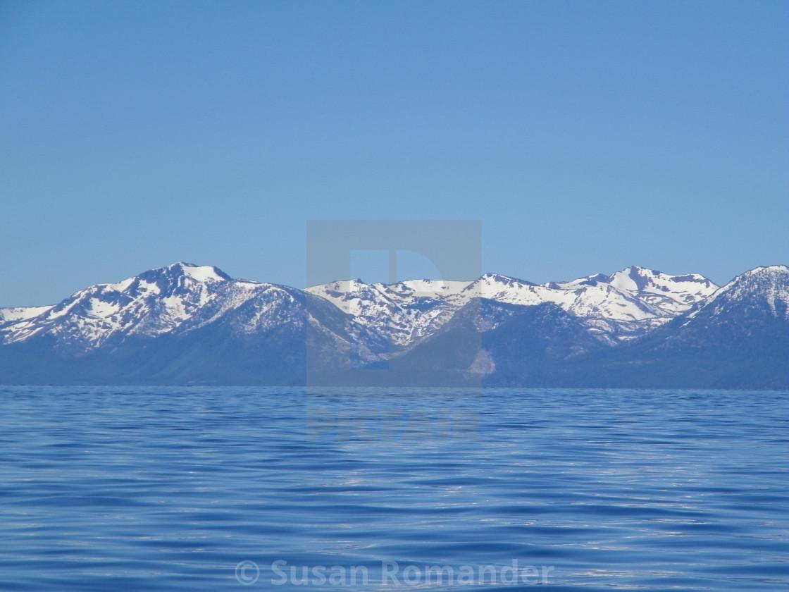 """""""Lake Tahoe"""" stock image"""