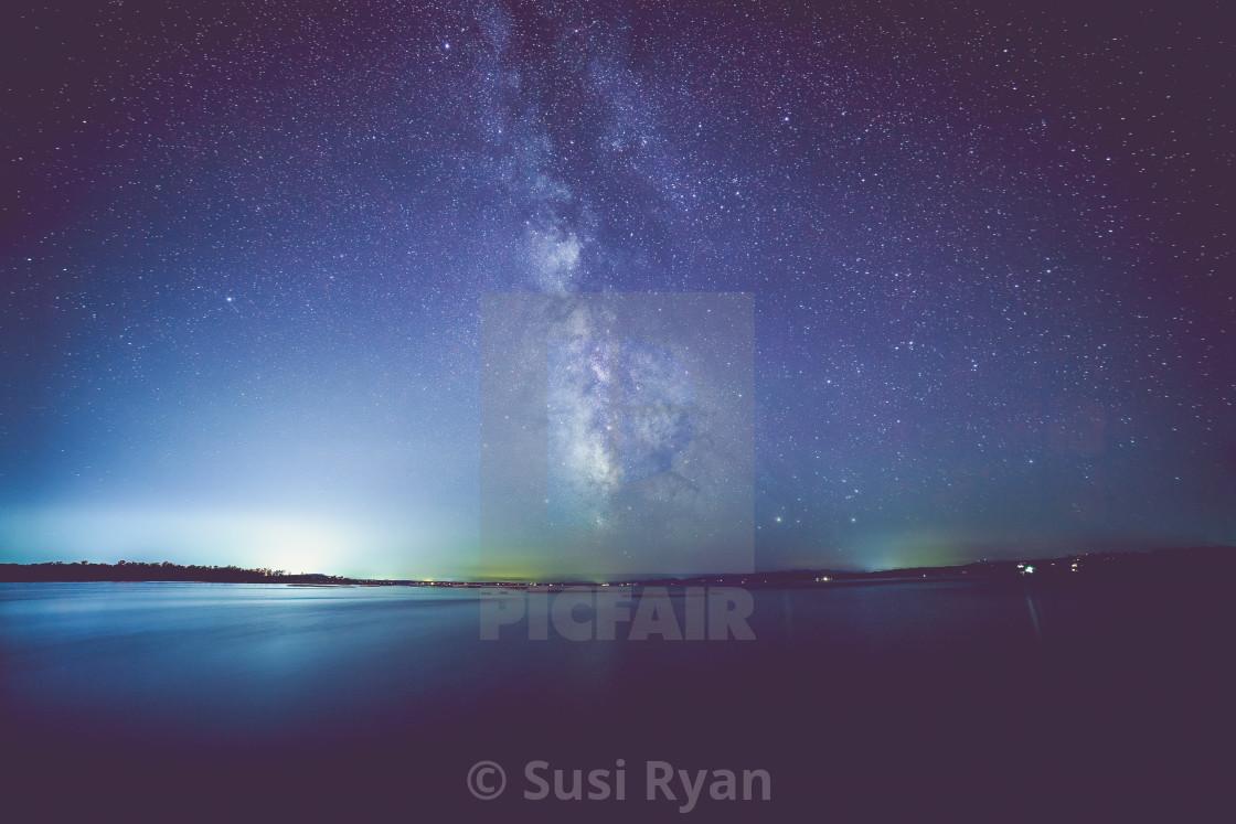 """""""Vermont Milky Way"""" stock image"""