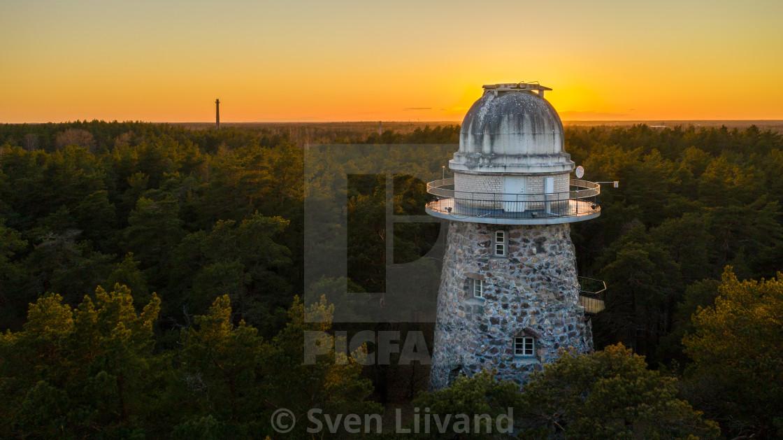 """Observatory"" stock image"