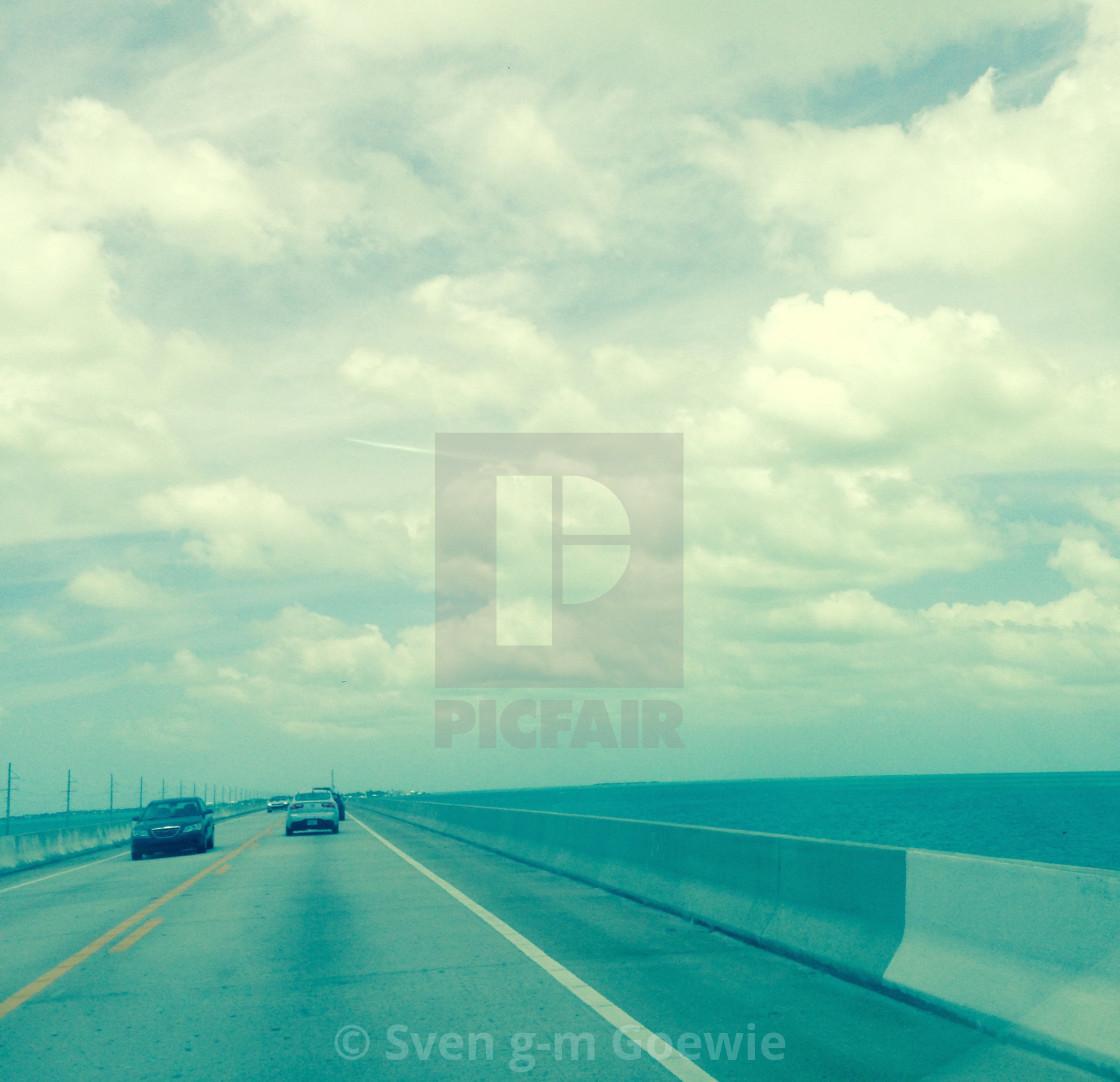 """""""Florida Keys by GOEWIE"""" stock image"""