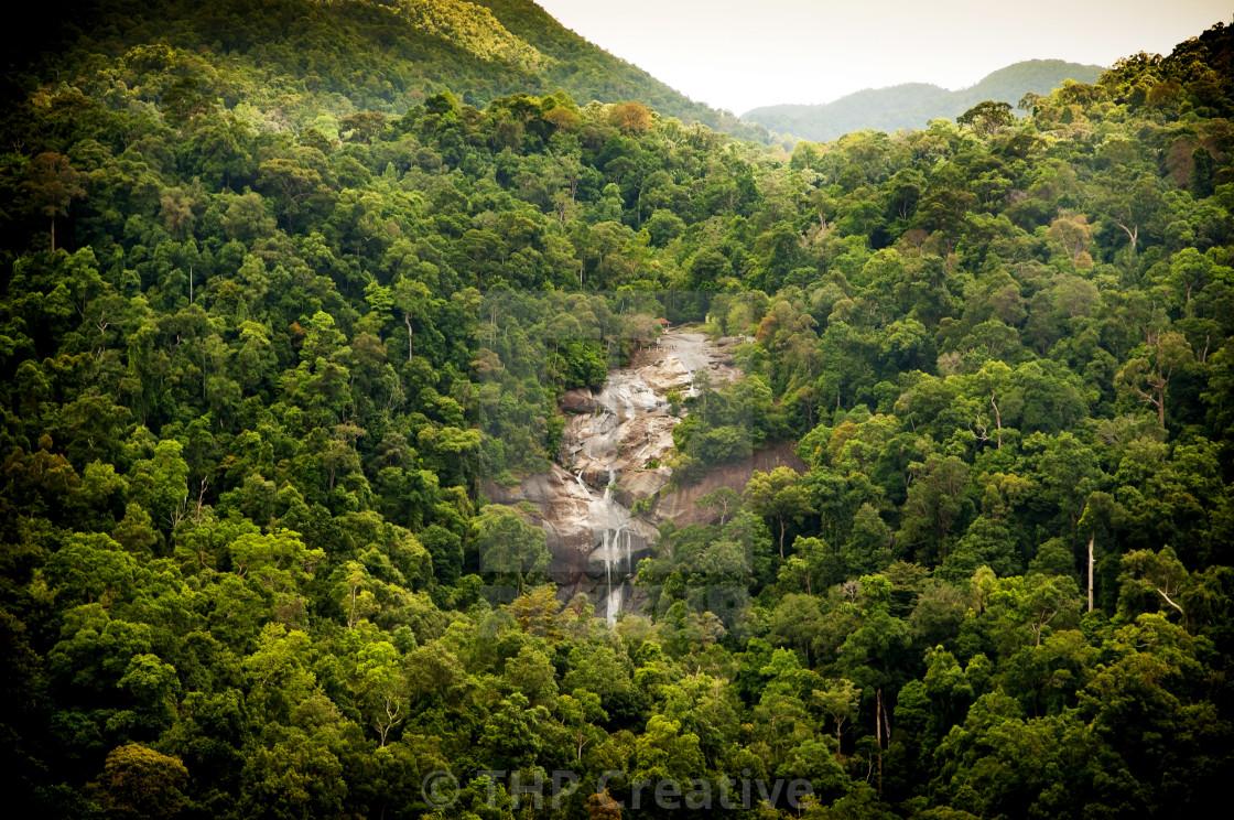 """""""Jungle Waterfall"""" stock image"""