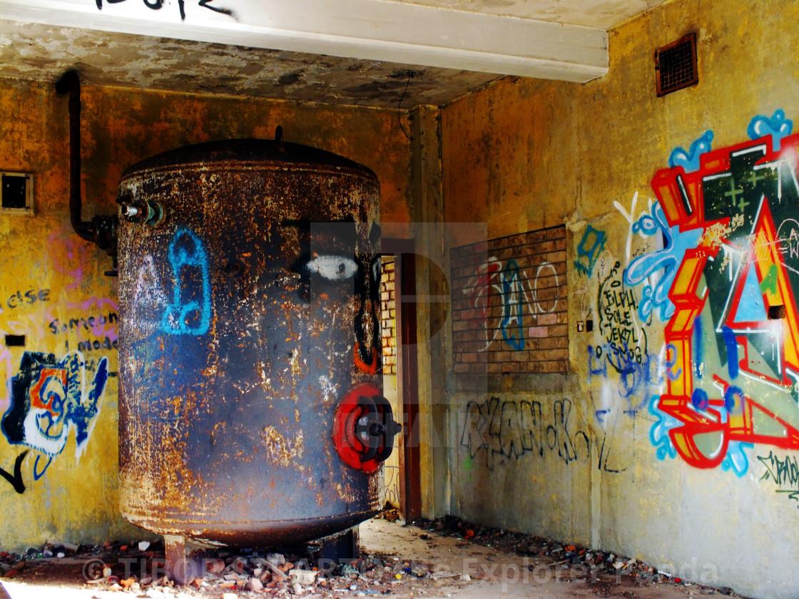 """""""Abandoned Leith lighthouse # 28"""" stock image"""
