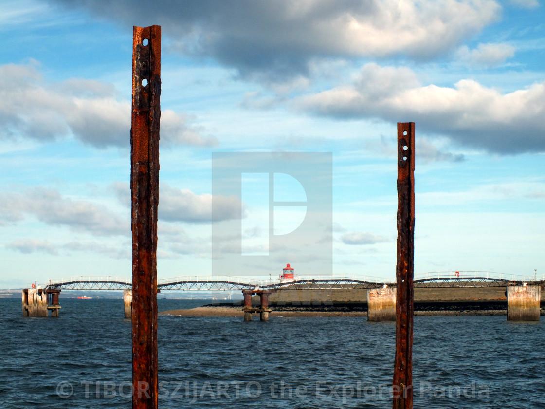 """""""Abandoned Leith lighthouse # 20"""" stock image"""