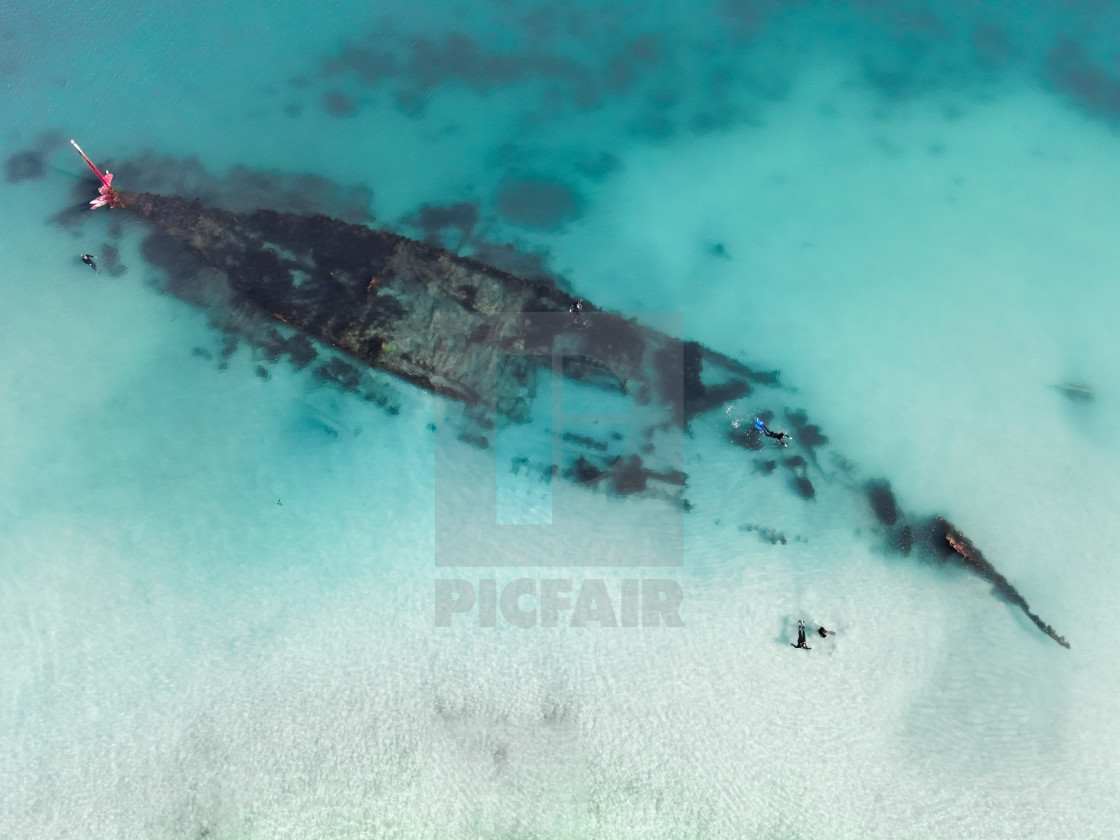 """Omeo Wreck"" stock image"