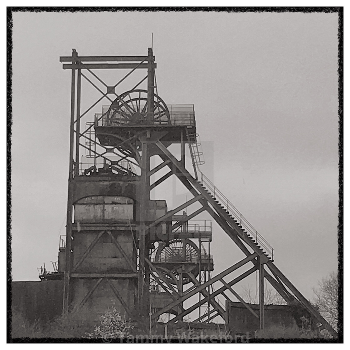 """""""Welsh Colliery"""" stock image"""