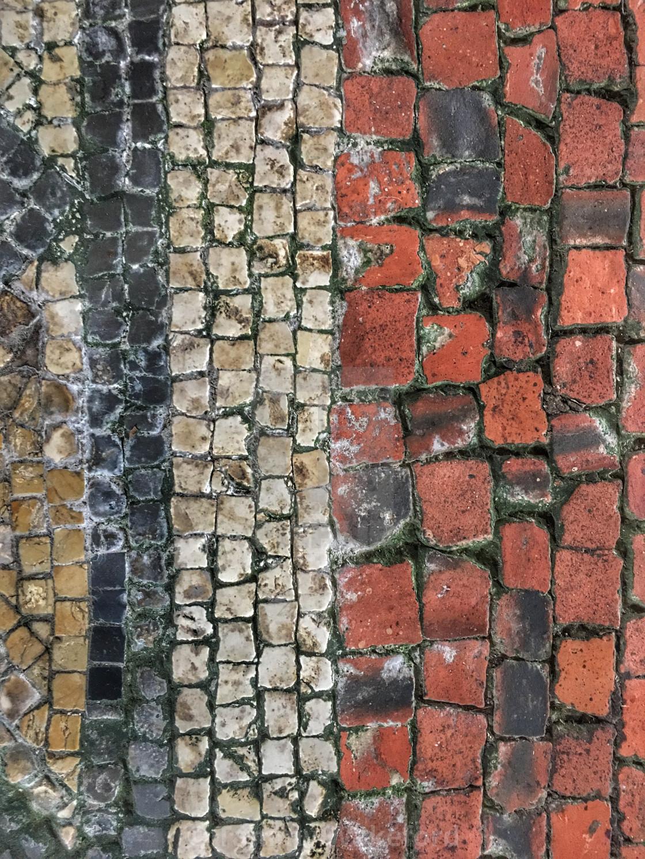 """Roman Mosaic Floor"" stock image"