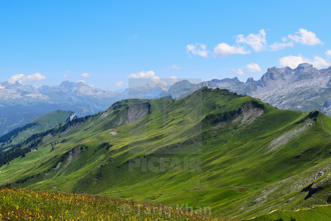 """Mountain Waves"" stock image"