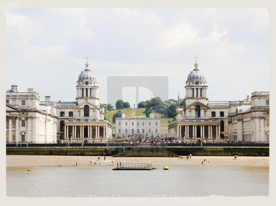 """""""Old Royal Navy College - Greenwich"""" stock image"""