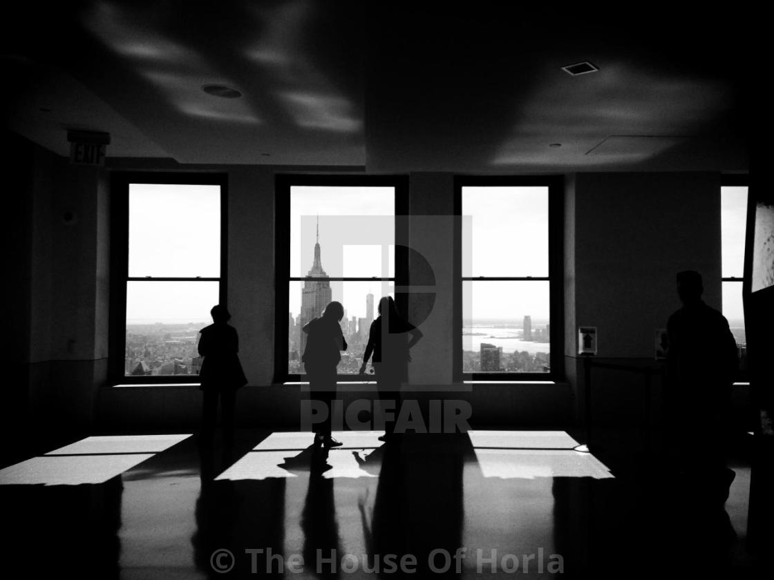 """""""A Room with a View"""" stock image"""