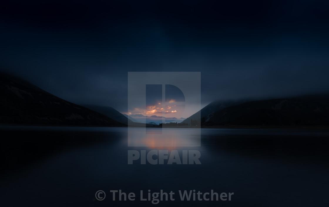 """Fading Light"" stock image"