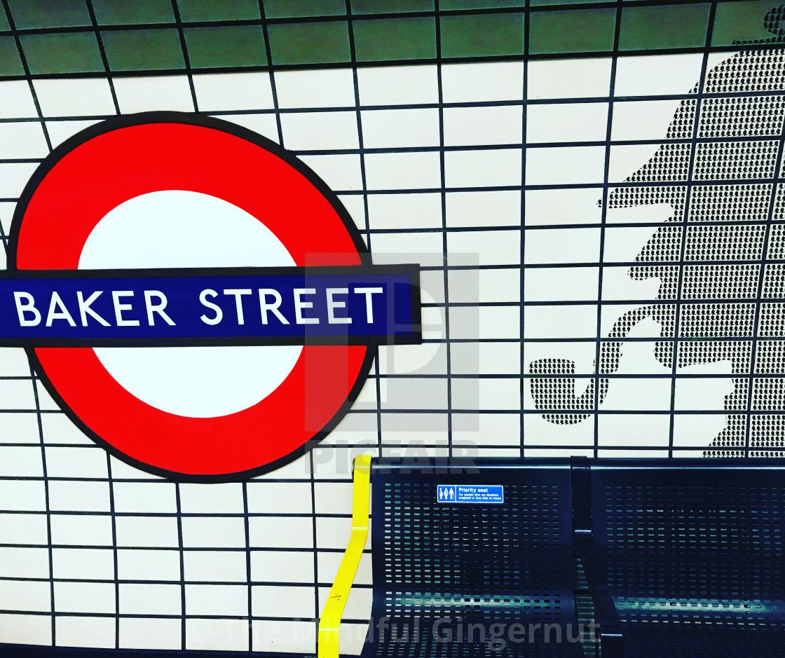 """""""Baker Street"""" stock image"""