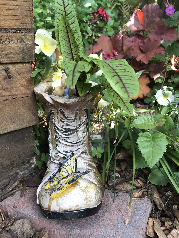 """Garden Boot"" stock image"
