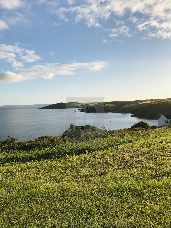 """The Cornish Coast"" stock image"