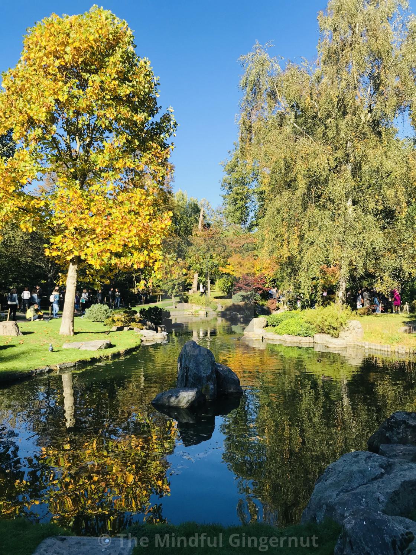 """Kyoto Gardens Portrait"" stock image"