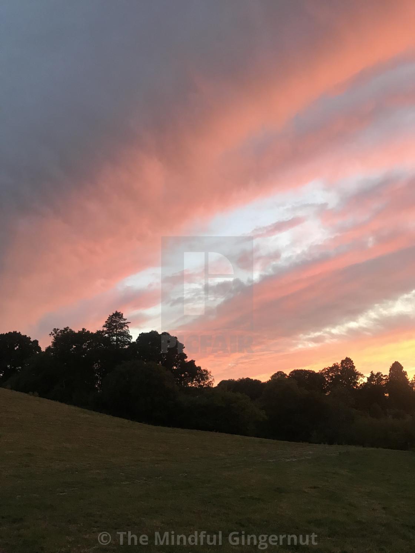 """Sunset 4"" stock image"