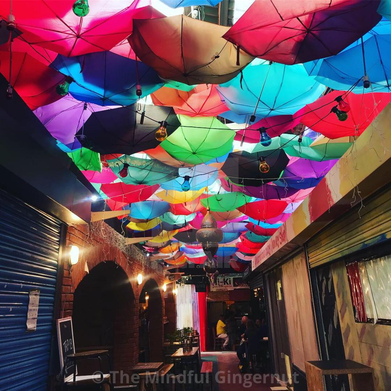 """""""Umbrella Fest"""" stock image"""