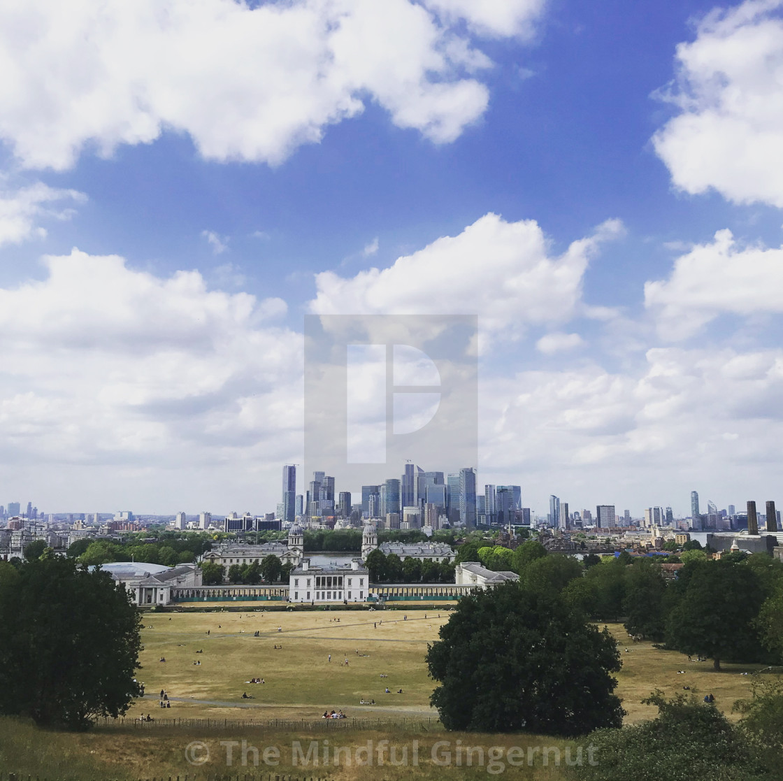 """""""Greenwich Park"""" stock image"""