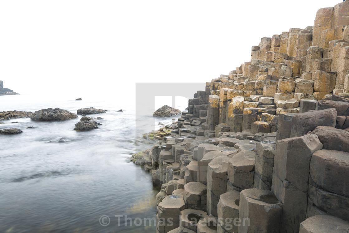 """Giant's Causeway"" stock image"