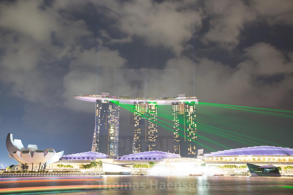 """""""Marina Bay, Singapore"""" stock image"""