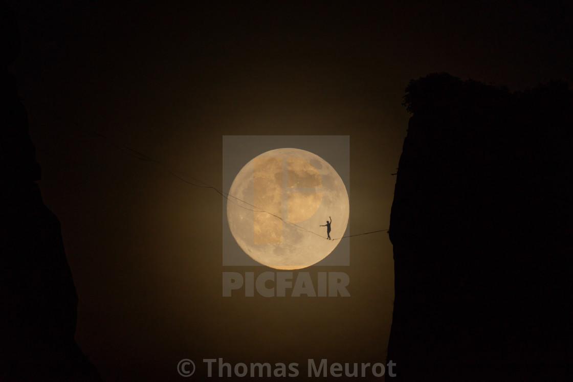 A man on the moon 1