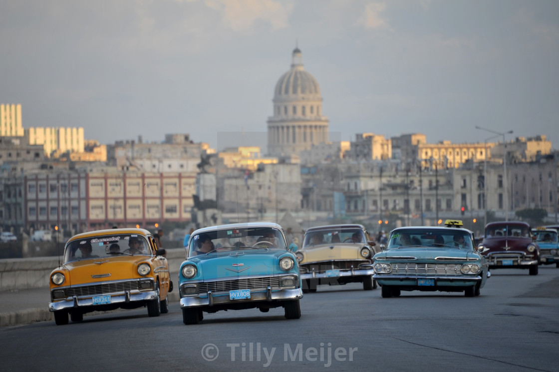 """old cars in Cuba"" stock image"