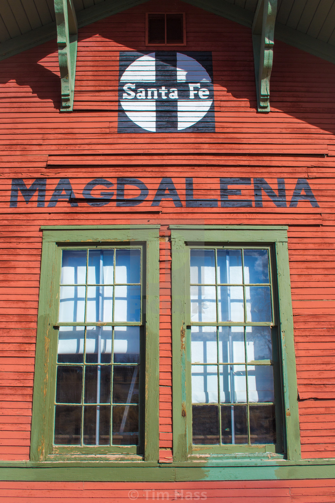 """Magdalena Train Station"" stock image"