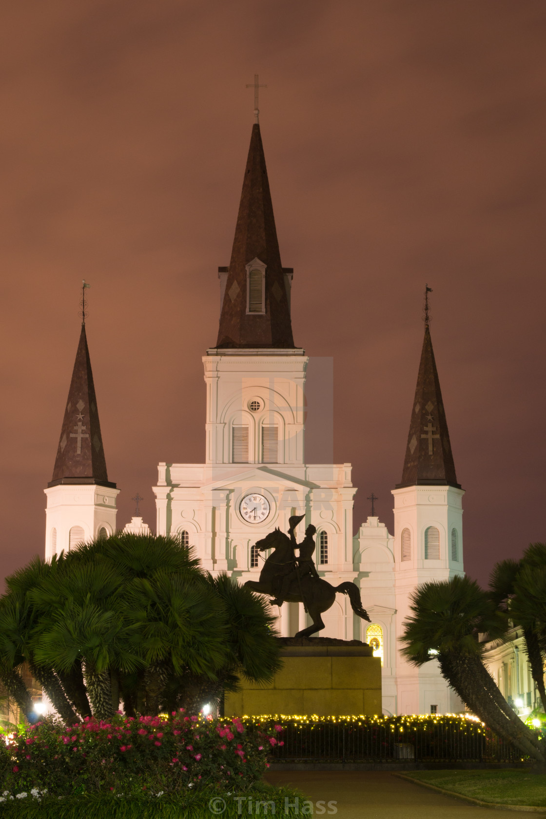 """""""St. Louis Cathedral, New Orleans"""" stock image"""