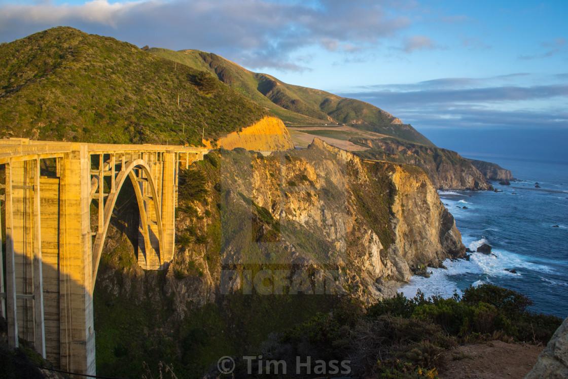 """Pacific Coast Highway"" stock image"