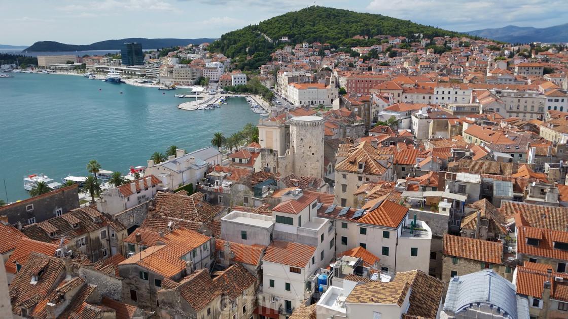 """Split, Croatia"" stock image"