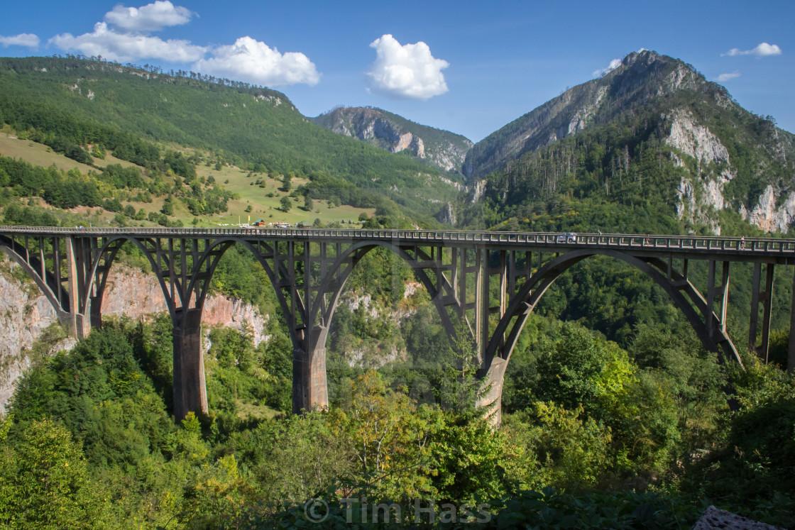 """""""Đurđevića Tara Bridge"""" stock image"""
