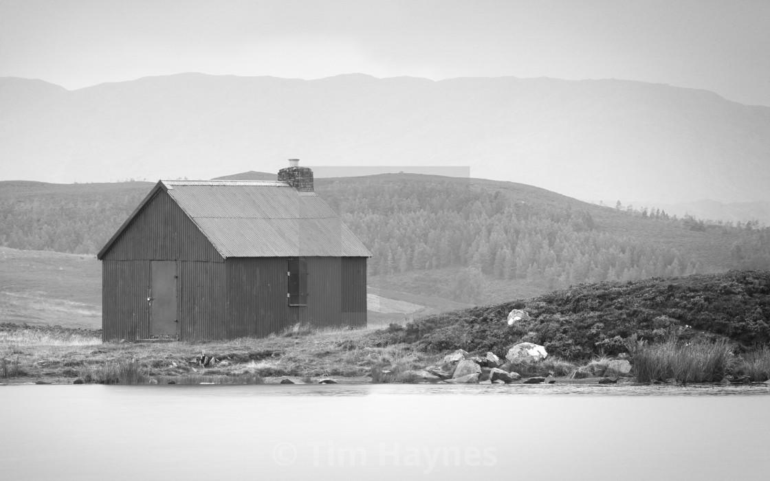 """""""Grouse Hut, Urlar Moor"""" stock image"""