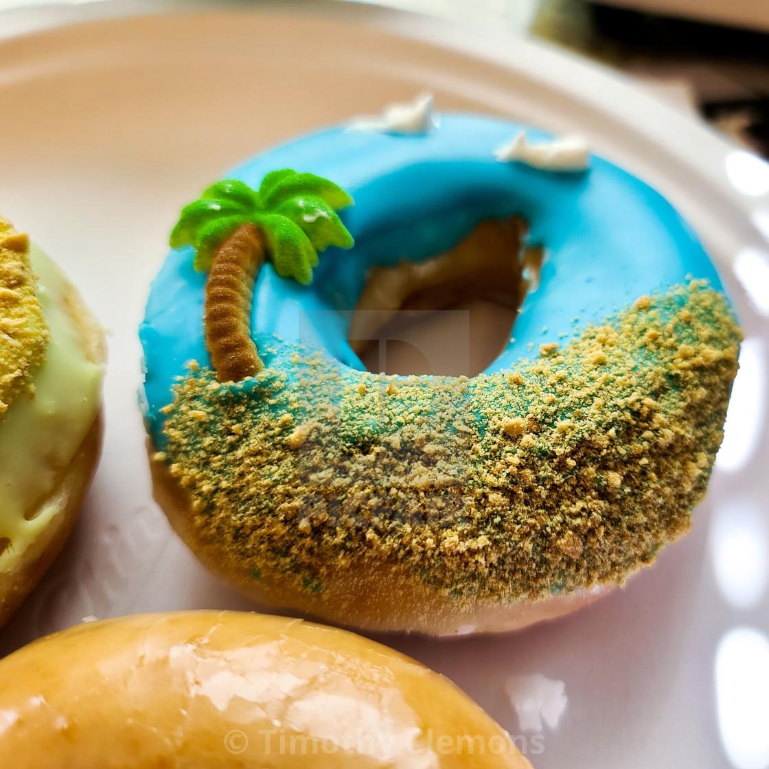 """Vacation Donuts"" stock image"