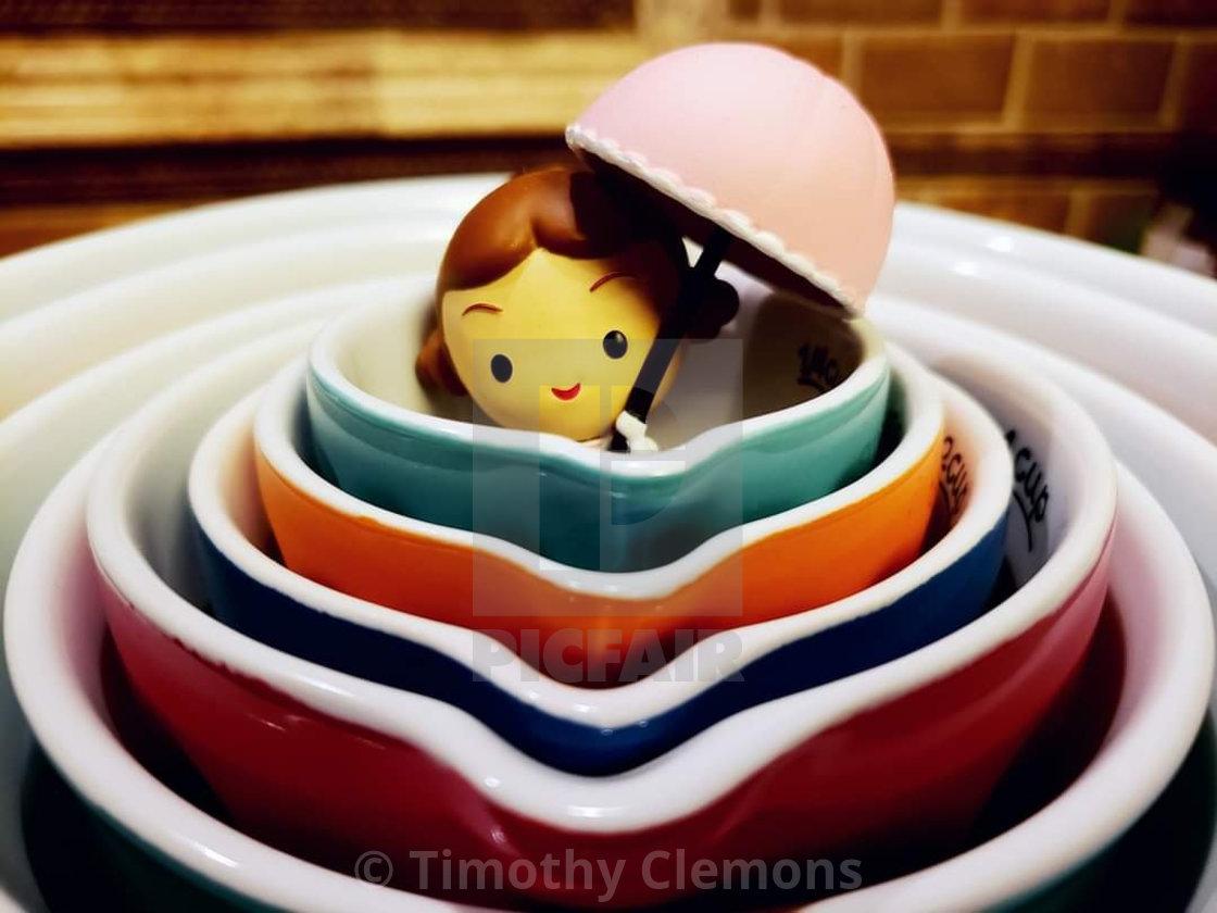 """Little lady"" stock image"