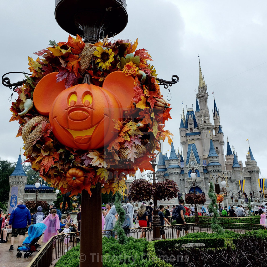 """""""Halloween at the house of mouse"""" stock image"""