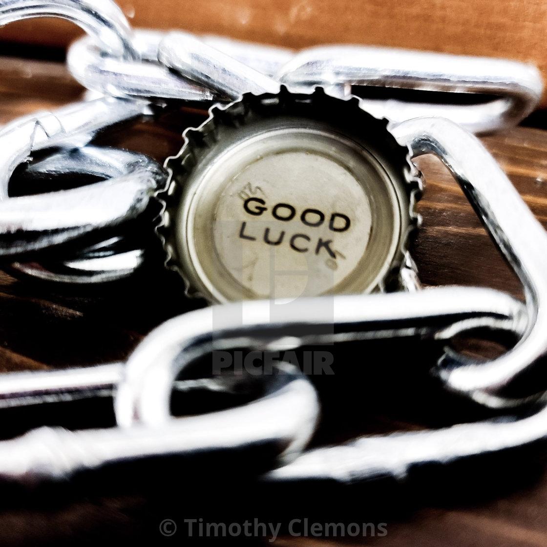 """Good Luck"" stock image"
