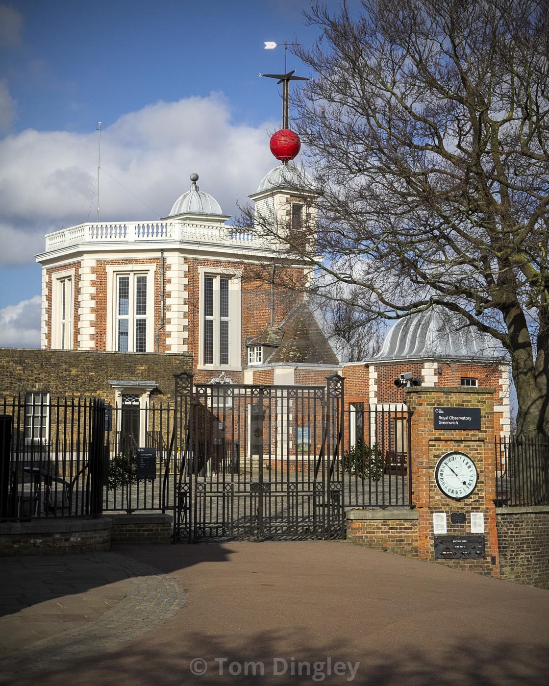 """Flamsteed House, Greenwich"" stock image"