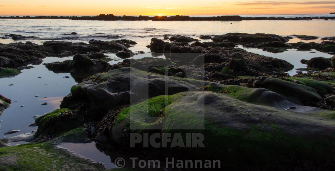 """""""Sunrise on Horizon"""" stock image"""