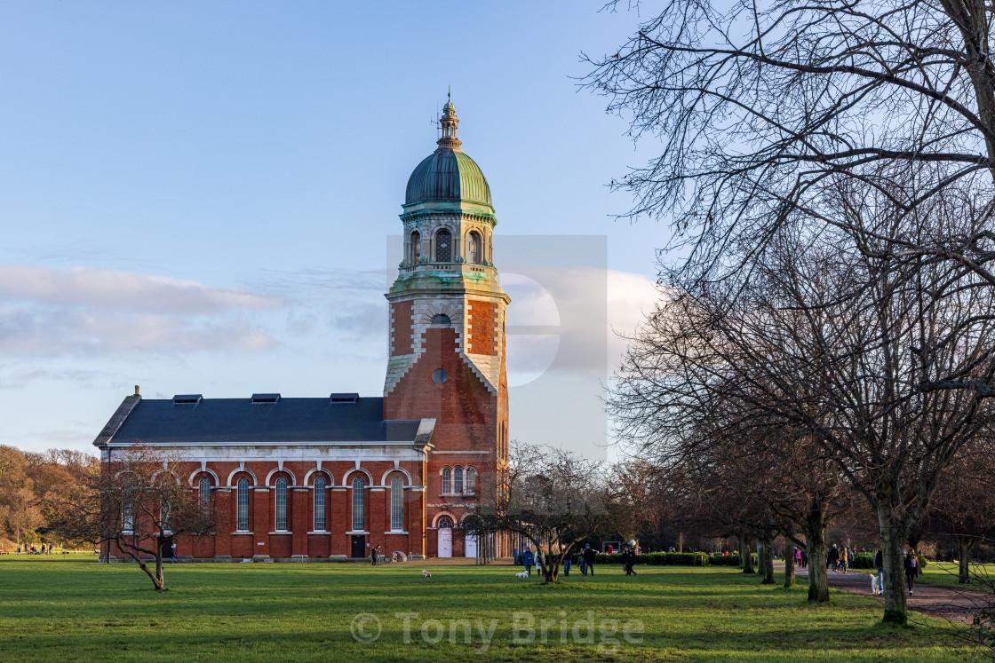 """Royal Victoria Hospital Chapel"" stock image"