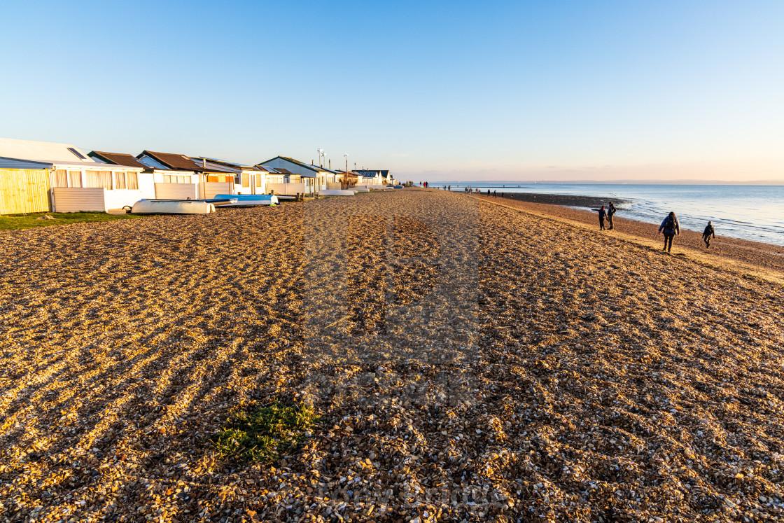 """Meon Beach chalets"" stock image"