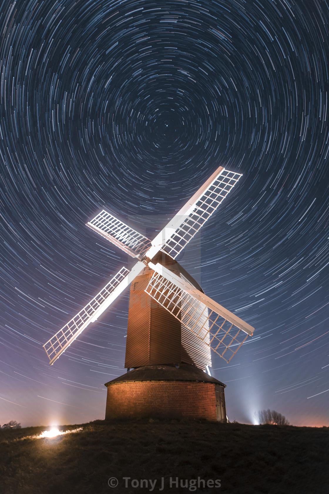 """Brill Windmill"" stock image"