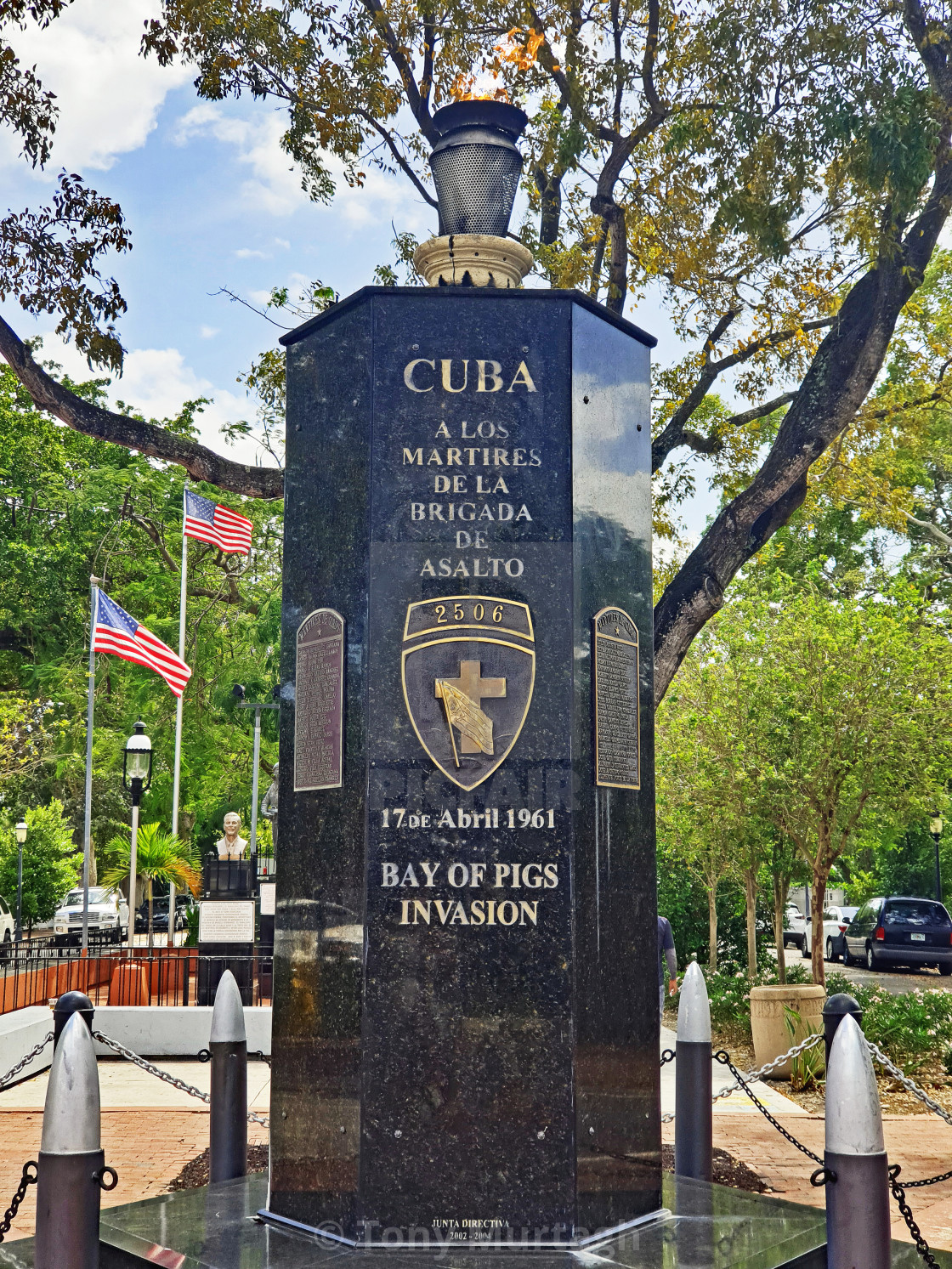 """""""Bay of Pigs Monument"""" stock image"""